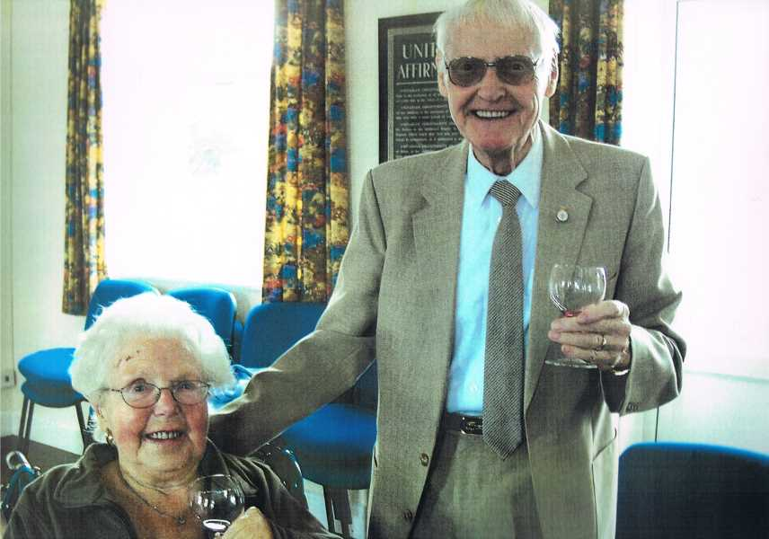 Ken and Mary Sims on the occasion of their 60th wedding anniversary